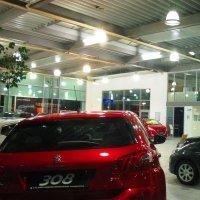 Autohausbeleuchtung